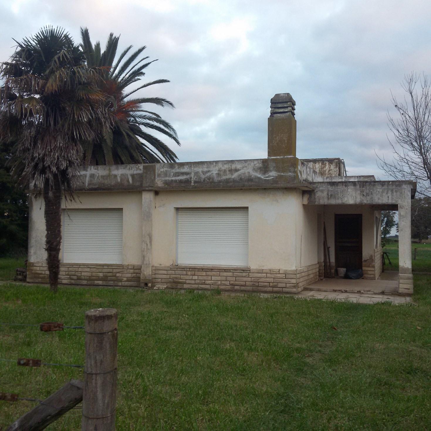 Chacra de 4 has con casa en Roque Perez